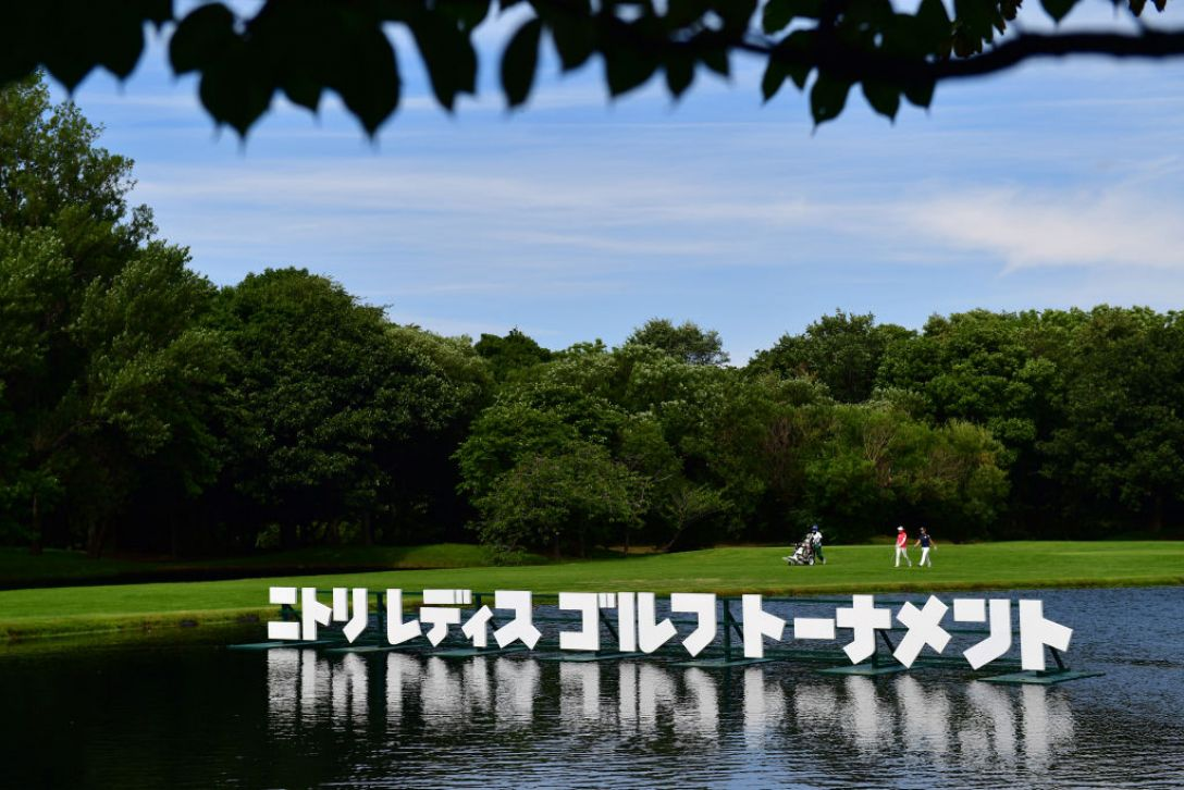 ニトリレディスゴルフトーナメント 指定練習日<Photo:Atsushi tomura/Getty Images>