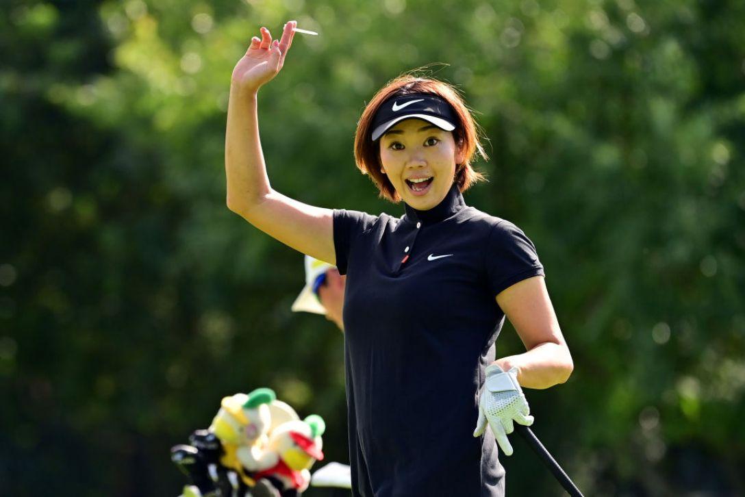 ニトリレディスゴルフトーナメント 指定練習日 葭葉ルミ <Photo:Atsushi Tomura/Getty Images>