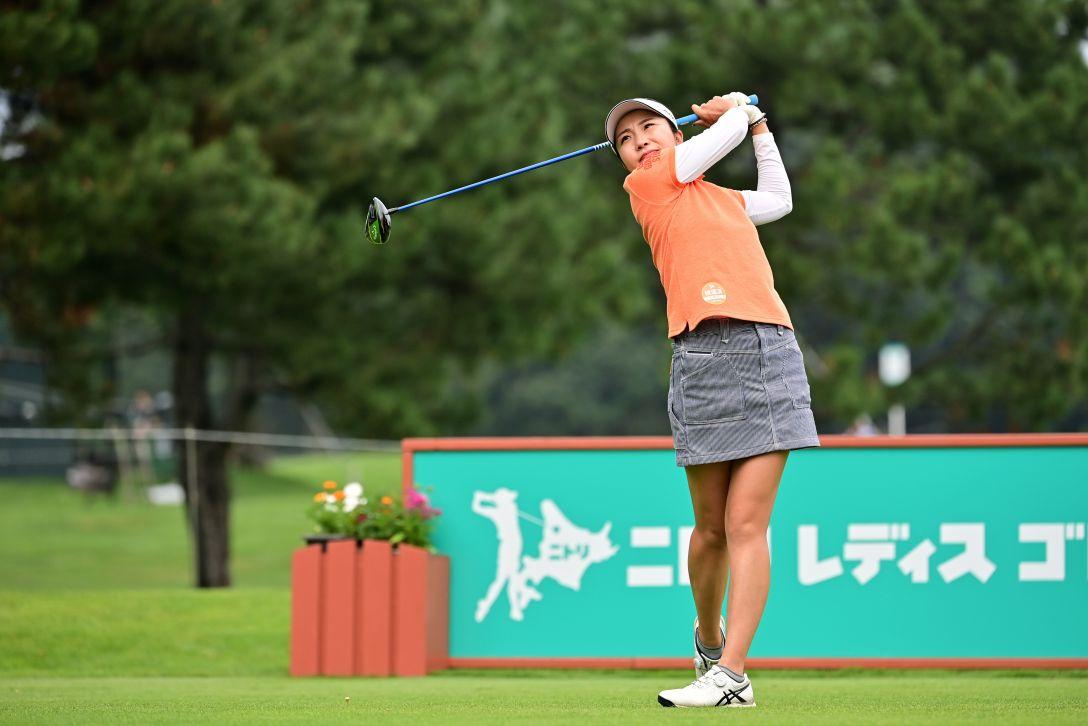 ニトリレディスゴルフトーナメント 第1日 井上りこ <Photo:Atsushi Tomura/Getty Images>