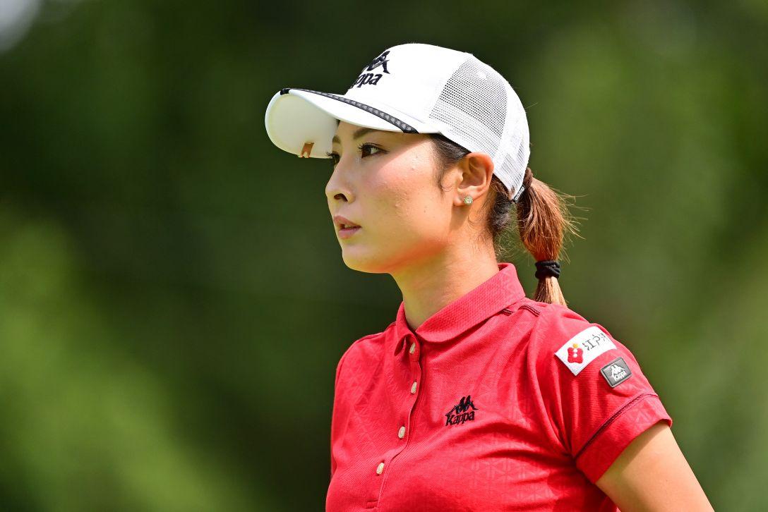 ニトリレディスゴルフトーナメント 第1日 鶴岡果恋 <Photo:Atsushi Tomura/Getty Images>
