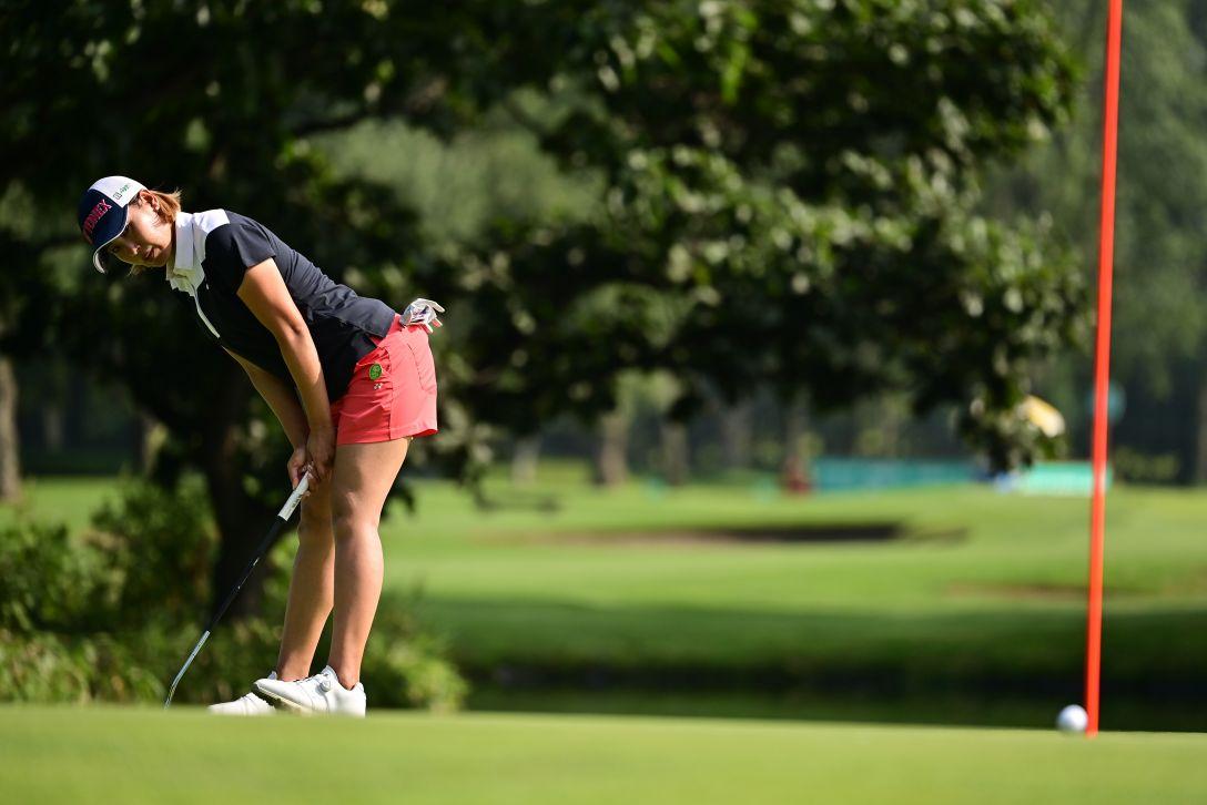 ニトリレディスゴルフトーナメント 第1日 若林舞衣子 <Photo:Atsushi Tomura/Getty Images>