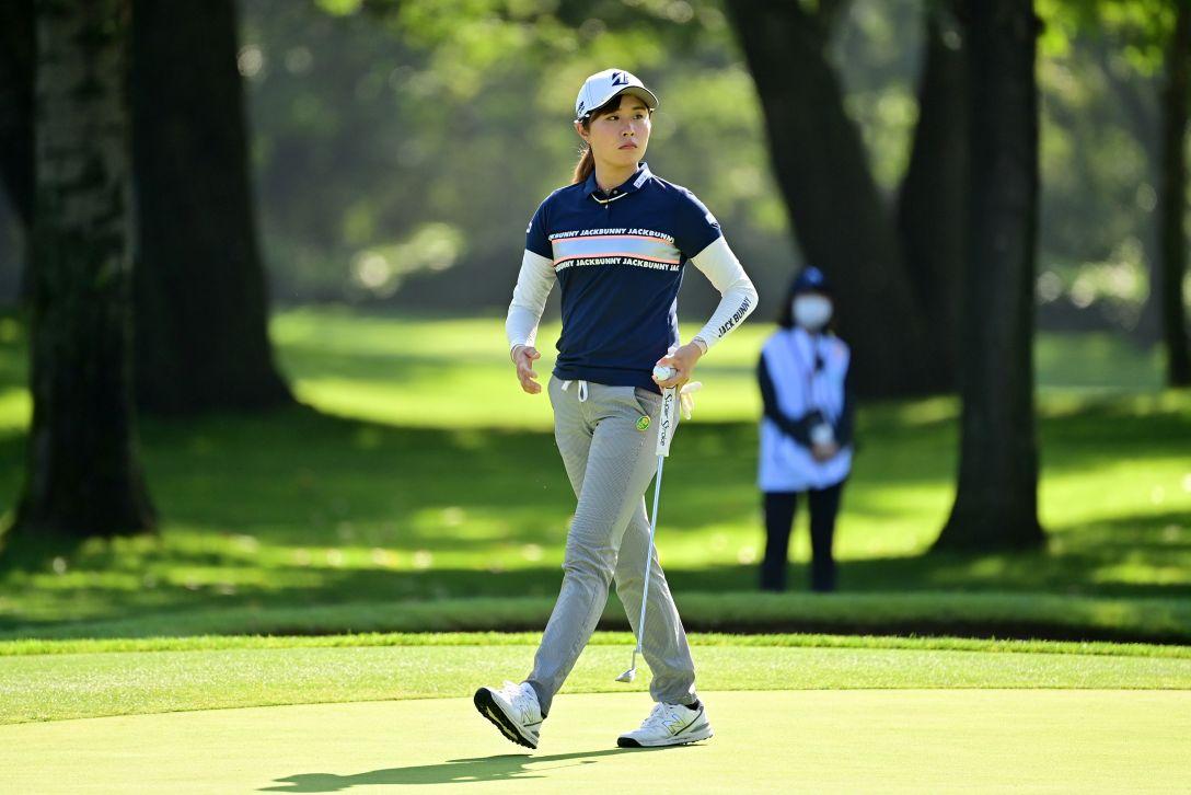 ニトリレディスゴルフトーナメント 第1日 大里桃子 <Photo:Atsushi Tomura/Getty Images>