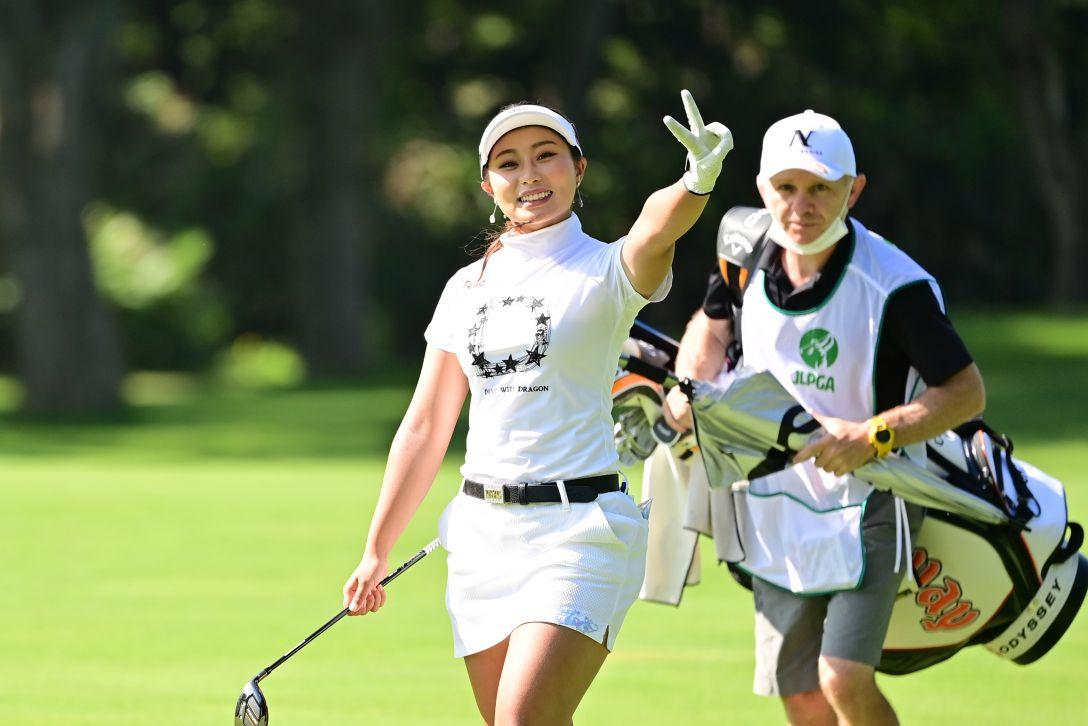 ニトリレディスゴルフトーナメント 第1日 竹内美雪 <Photo:Atsushi Tomura/Getty Images>
