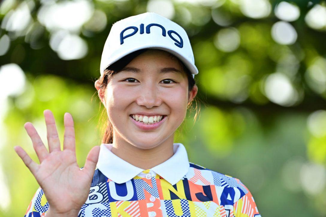 ニトリレディスゴルフトーナメント 第2日 六車日那乃 <Photo:Atsushi Tomura/Getty Images>