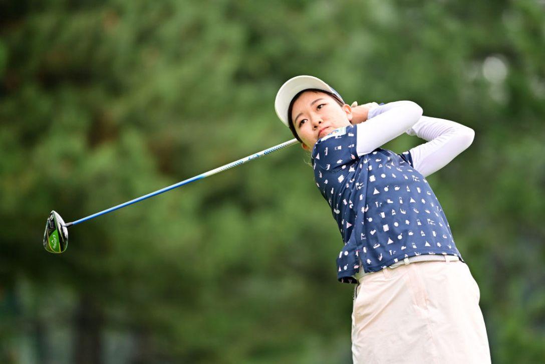 ニトリレディスゴルフトーナメント 第3日 新田彩乃 <Photo:Atsushi Tomura/Getty Images>