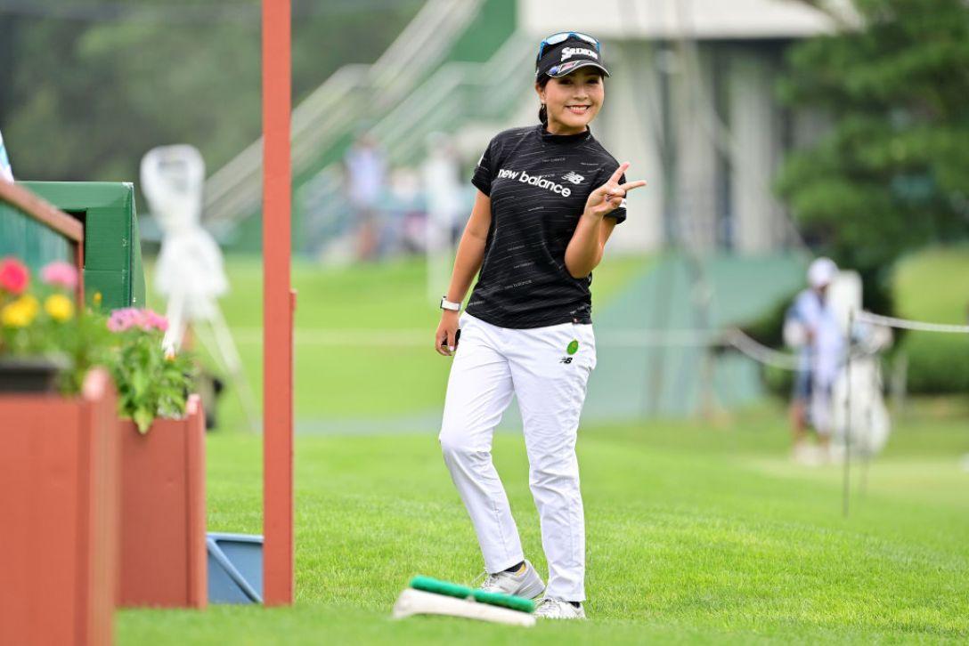 ニトリレディスゴルフトーナメント 第3日 青木瀬令奈 <Photo:Atsushi Tomura/Getty Images>