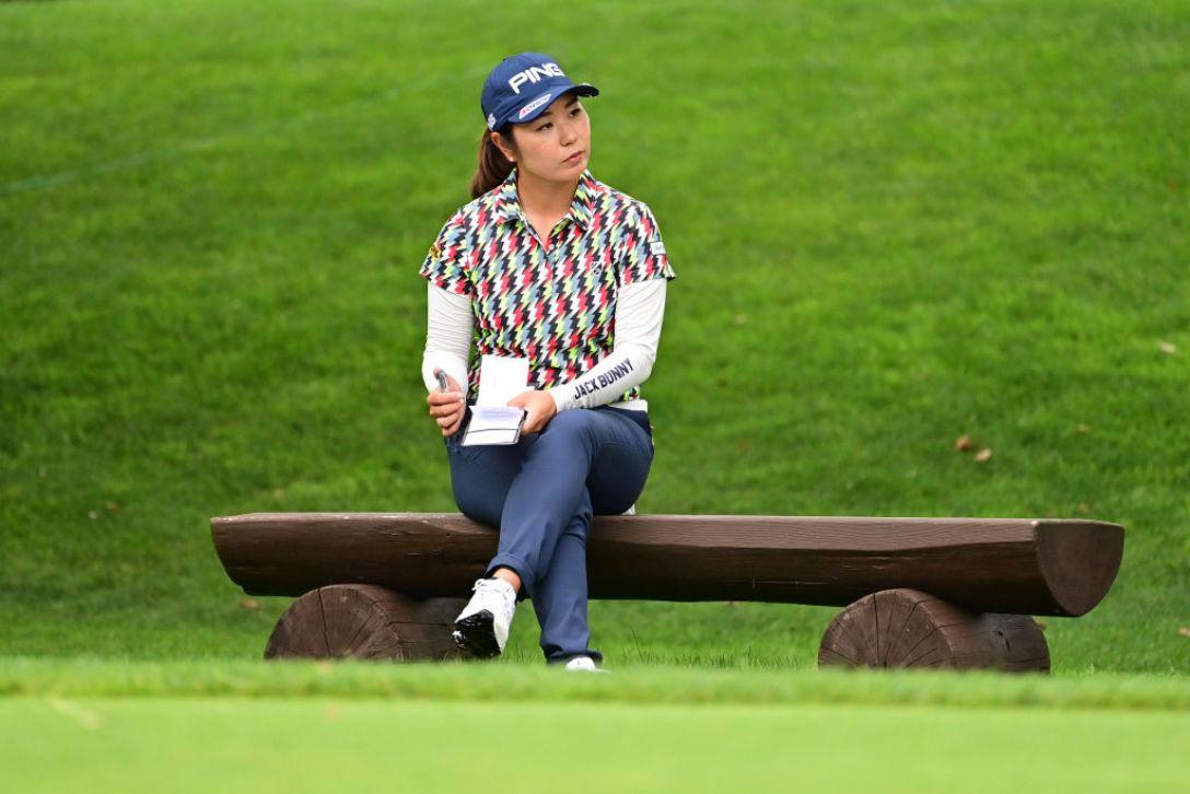 ニトリレディスゴルフトーナメント 第3日 比嘉真美子 <Photo:Atsushi Tomura/Getty Images>