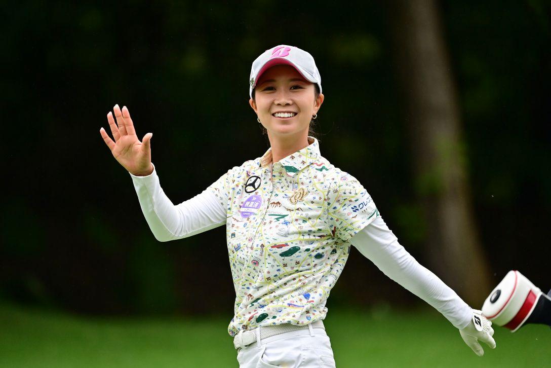 ニトリレディスゴルフトーナメント 第3日 金澤志奈 <Photo:Atsushi Tomura/Getty Images>