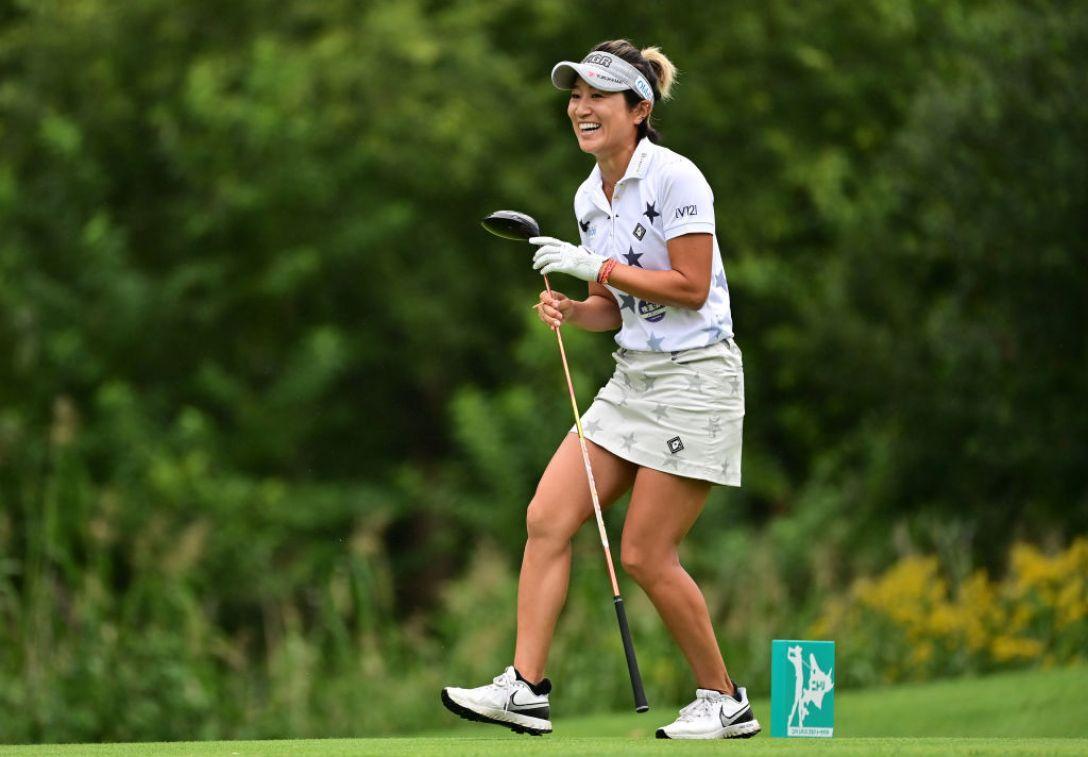 ニトリレディスゴルフトーナメント 第3日 藤本麻子 <Photo:Atsushi Tomura/Getty Images>