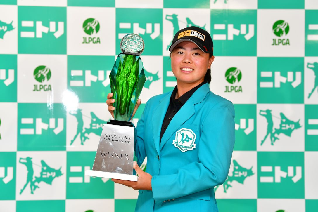 ニトリレディスゴルフトーナメント 最終日 笹生優花 <Photo:Atushi Tomura/Getty Images>