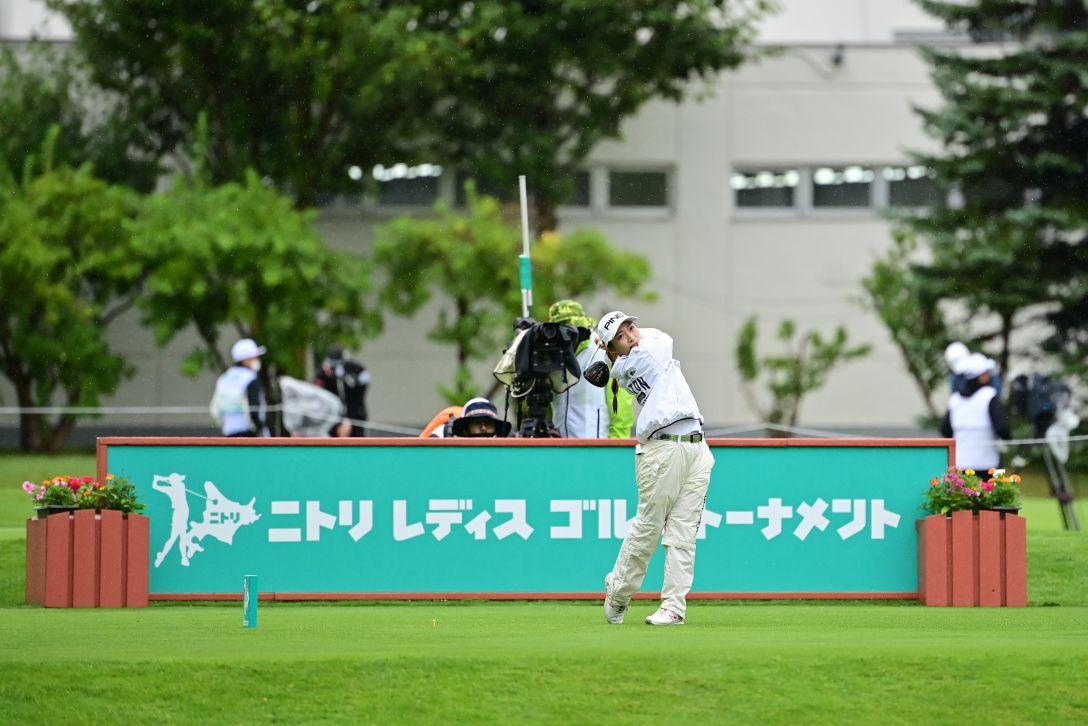 ニトリレディスゴルフトーナメント 最終日 大出瑞月 <Photo:Atushi Tomura/Getty Images>