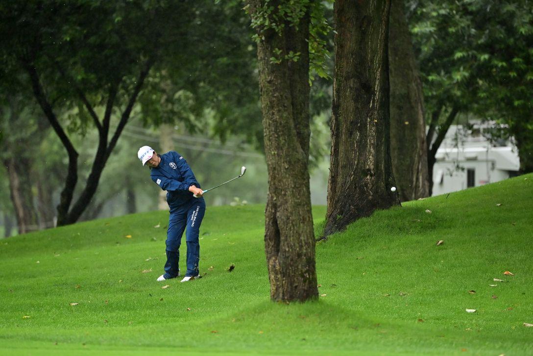 ニトリレディスゴルフトーナメント 最終日 李知姫 <Photo:Atushi Tomura/Getty Images>