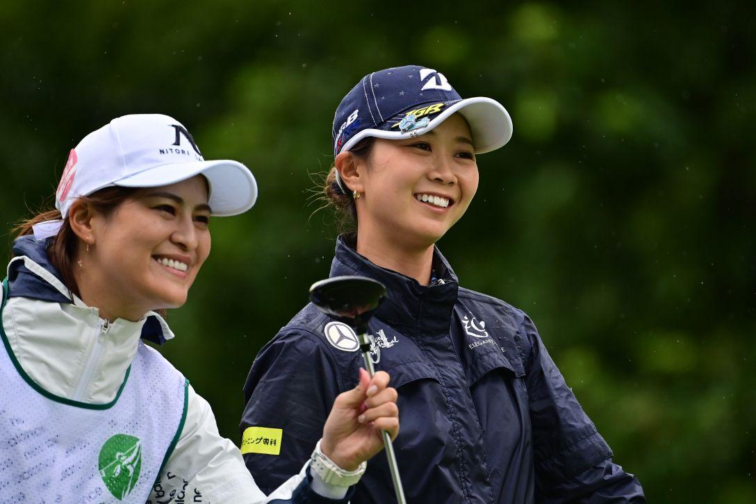 ニトリレディスゴルフトーナメント 最終日 金澤志奈 <Photo:Atushi Tomura/Getty Images>
