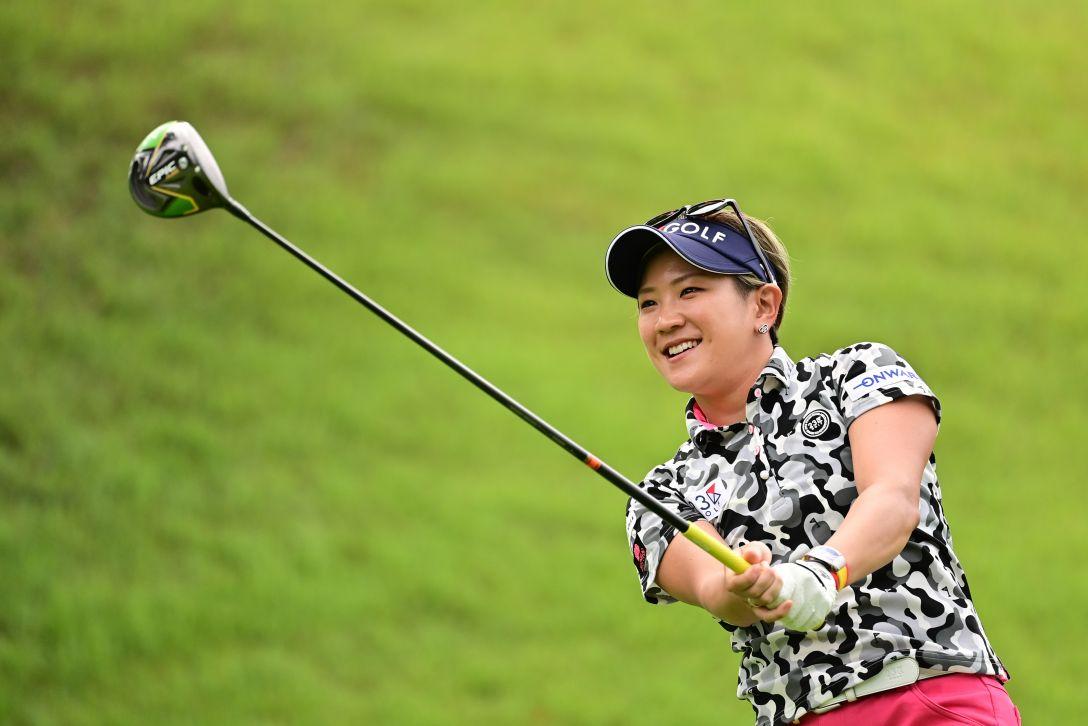 ゴルフ5レディス プロゴルフトーナメント 第1日 成田美寿々 <Photo:Atsushi Tomura/Getty Images>