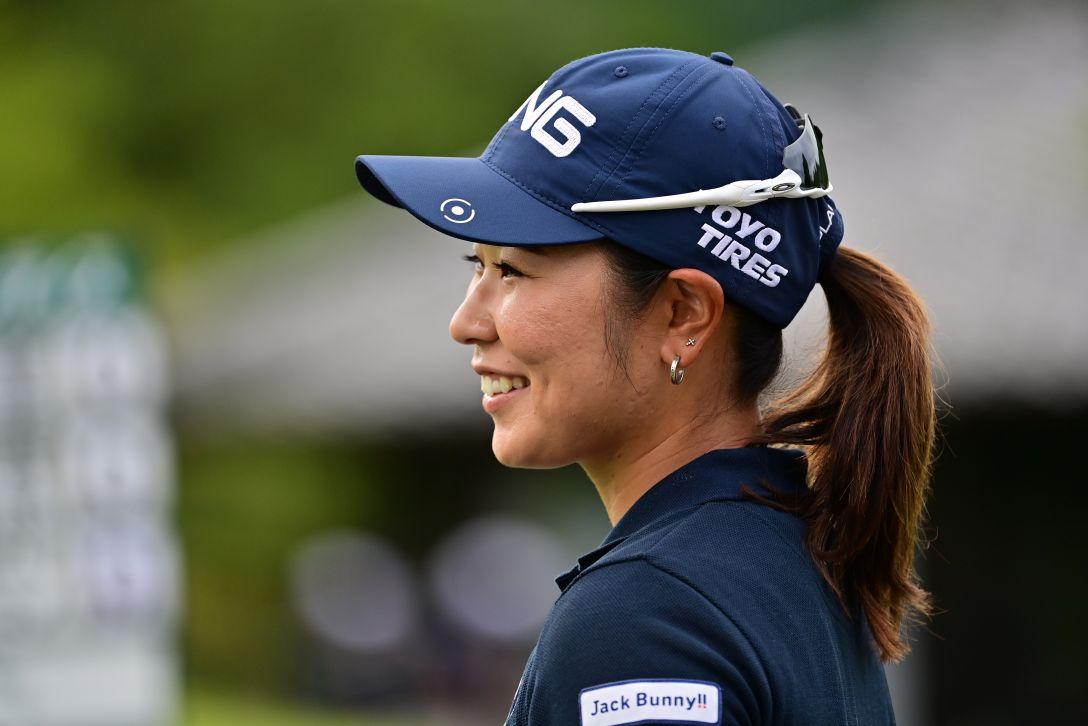 ゴルフ5レディス プロゴルフトーナメント 第1日 比嘉真美子 <Photo:Atsushi Tomura/Getty Images>