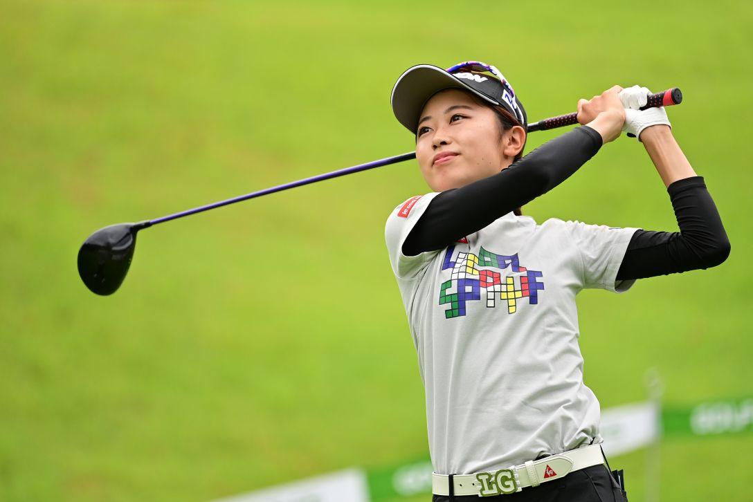 ゴルフ5レディス プロゴルフトーナメント 第1日 安田祐香 <Photo:Atsushi Tomura/Getty Images>