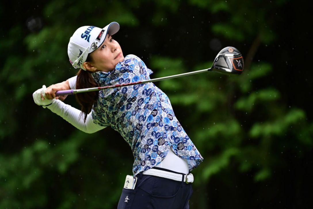 ゴルフ5レディス プロゴルフトーナメント 第1日 新垣比菜 <Photo:Atsushi Tomura/Getty Images>