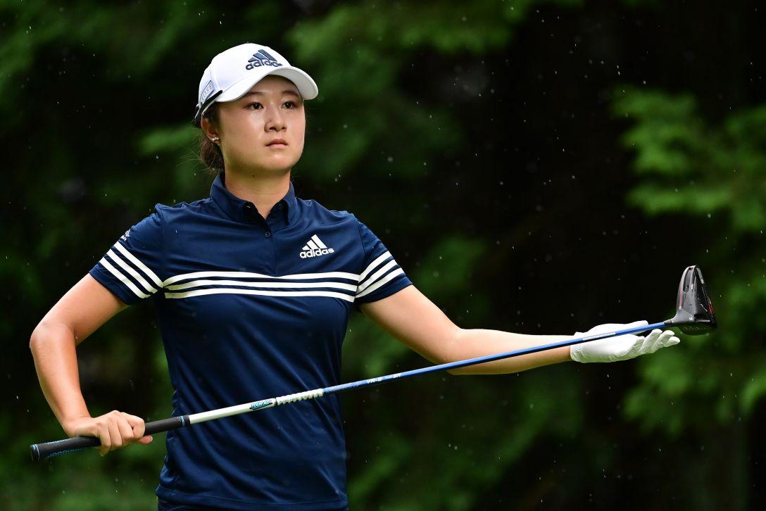ゴルフ5レディス プロゴルフトーナメント 第1日 森田遥 <Photo:Atsushi Tomura/Getty Images>