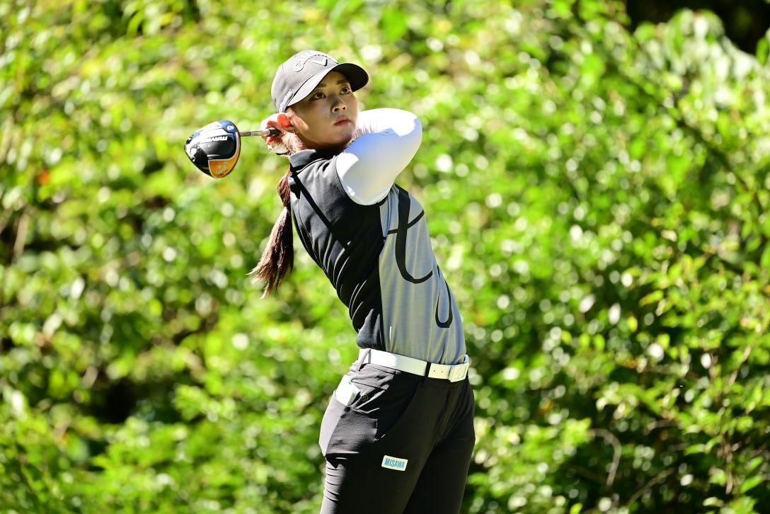 ゴルフ5レディス プロゴルフトーナメント 第2日 柏原明日架 <Photo:Atsushi Tomura/Getty Images>