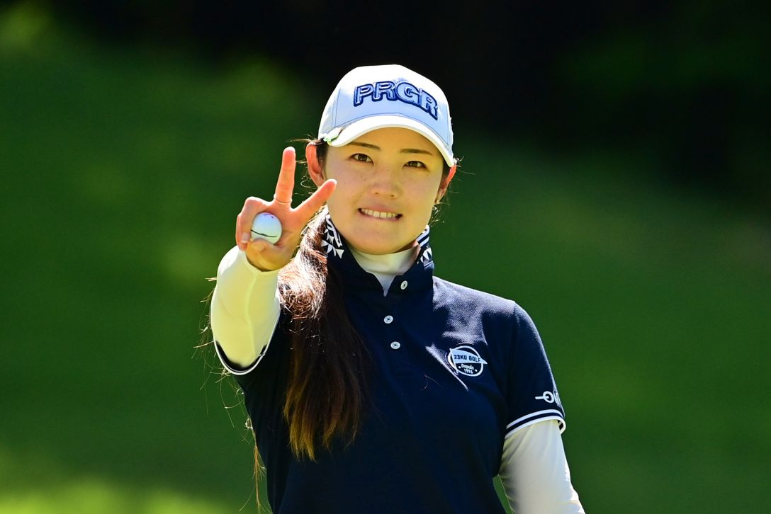 ゴルフ5レディス プロゴルフトーナメント 第2日 辻梨恵 <Photo:Atsushi Tomura/Getty Images>