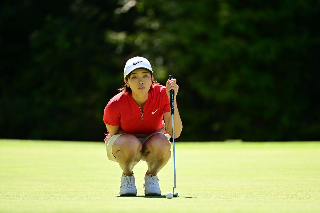 ゴルフ5レディス プロゴルフトーナメント 第2日 葭葉ルミ <Photo:Atsushi Tomura/Getty Images>