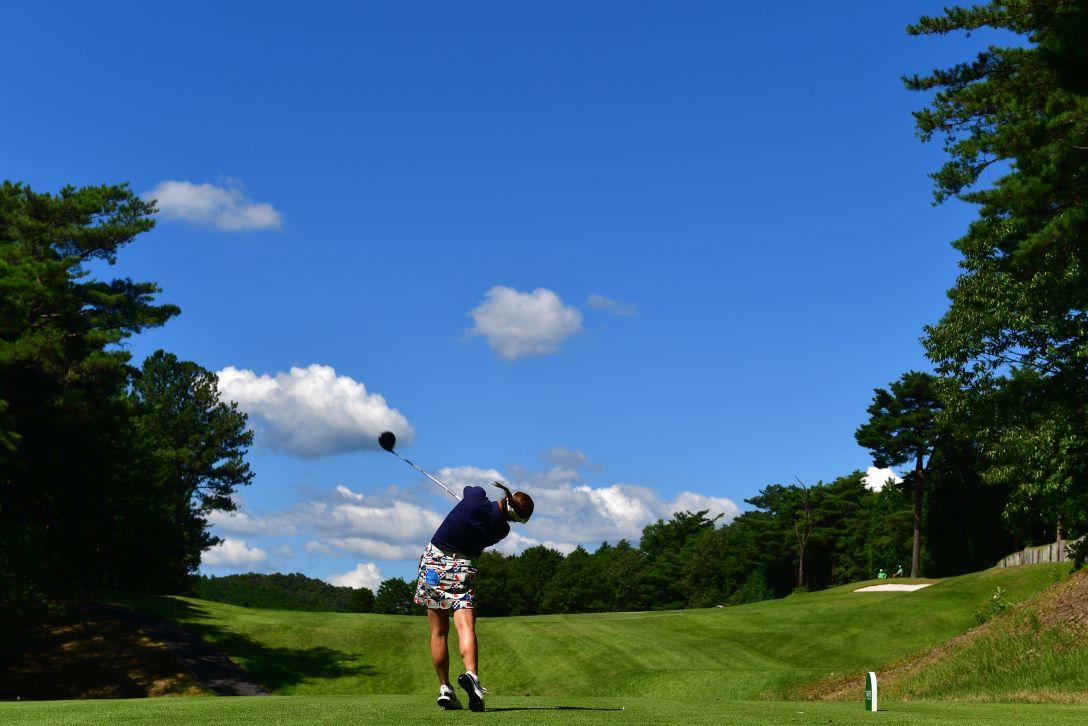 ゴルフ5レディス プロゴルフトーナメント 第2日 田中瑞希 <Photo:Atsushi Tomura/Getty Images>