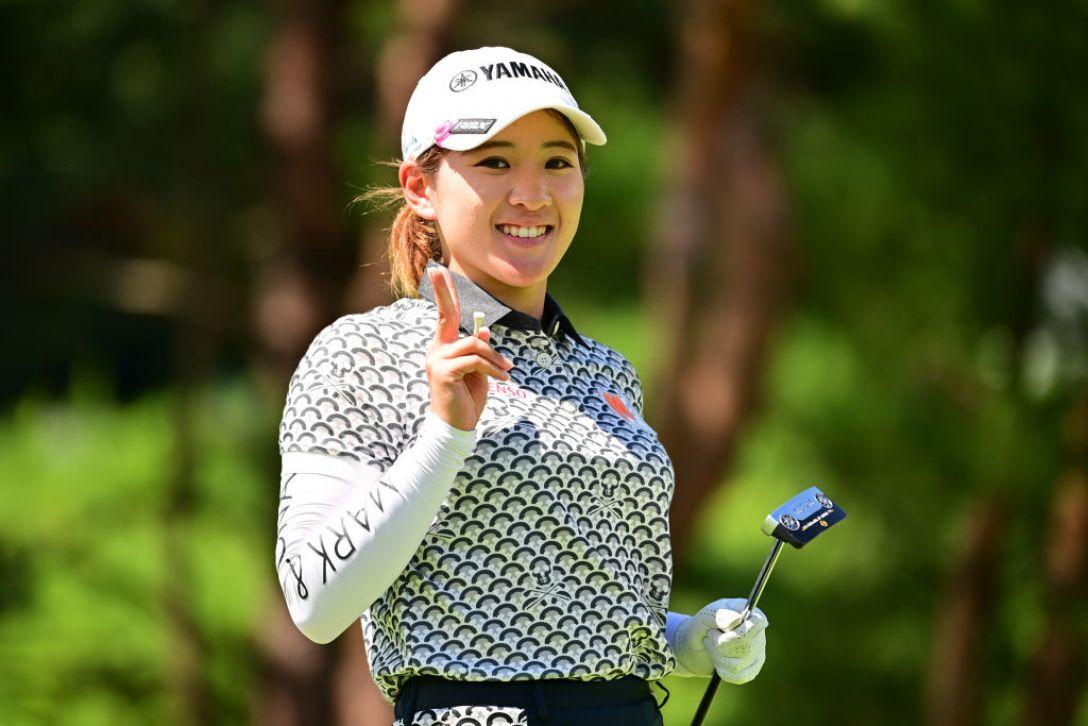 ゴルフ5レディス プロゴルフトーナメント 最終日 永井花奈 <Photo:Atsushi Tomura/Getty Images>