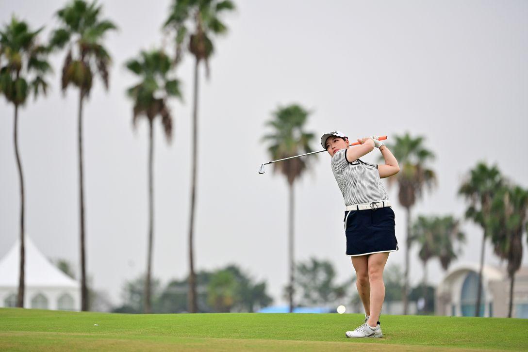 日本女子プロゴルフ選手権大会コニカミノルタ杯 第1日 後藤未有 <Photo:Atsushi Tomura/Getty Images>