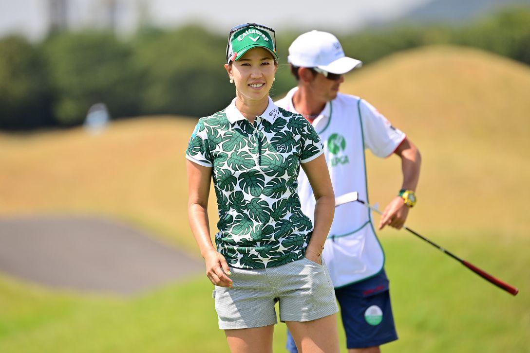 日本女子プロゴルフ選手権大会コニカミノルタ杯 第1日 上田桃子 <Photo:Atsushi Tomura/Getty Images>