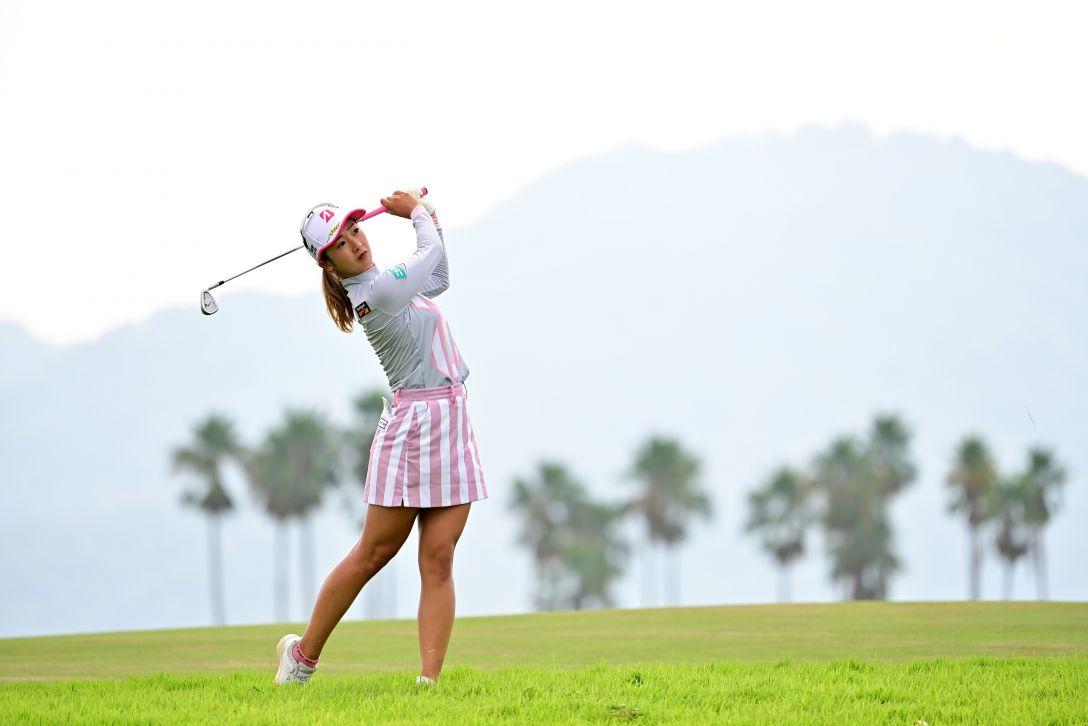 日本女子プロゴルフ選手権大会コニカミノルタ杯 第1日 松田鈴英 <Photo:Atsushi Tomura/Getty Images>