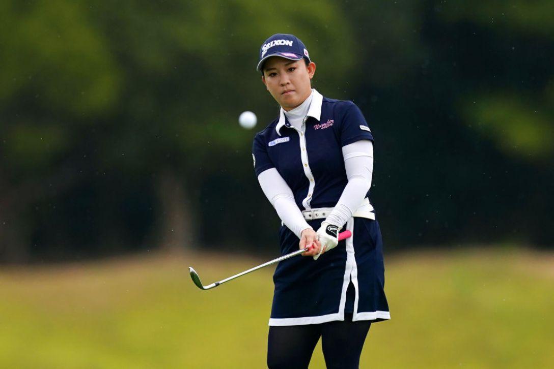 日本女子プロゴルフ選手権大会コニカミノルタ杯 第2日 香妻琴乃 <Photo:Ken Ishii/Getty Images>