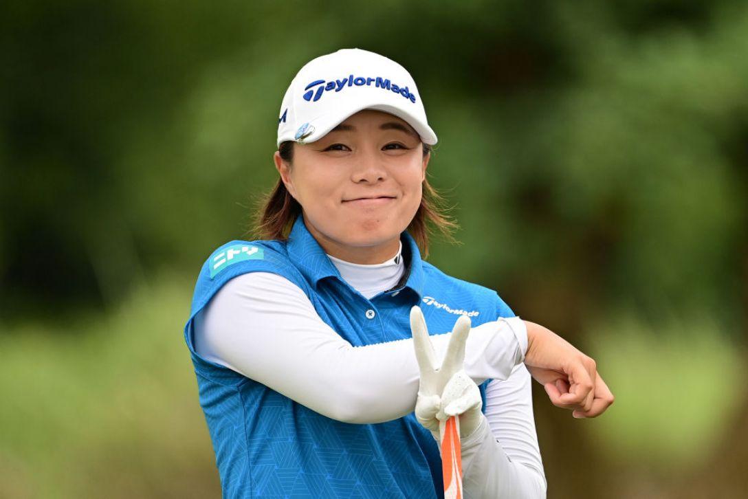 日本女子プロゴルフ選手権大会コニカミノルタ杯 第2日 永峰咲希 <Photo:Atsushi Tomura/Getty Images>