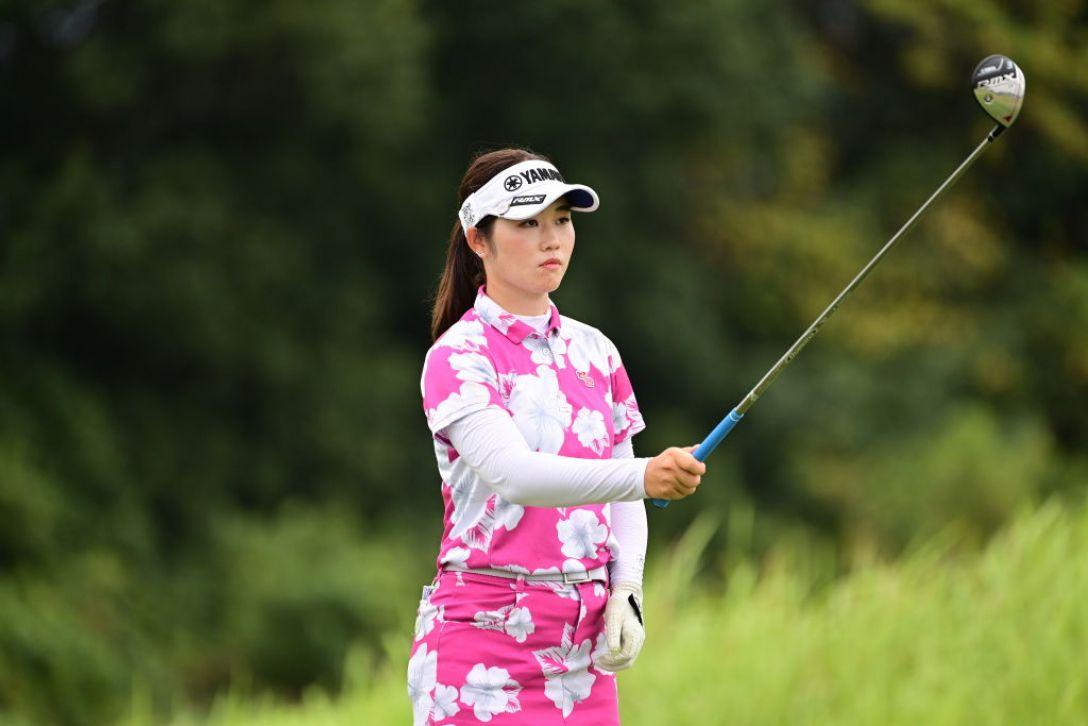 日本女子プロゴルフ選手権大会コニカミノルタ杯 第2日 植竹希望 <Photo:Atsushi Tomura/Getty Images>
