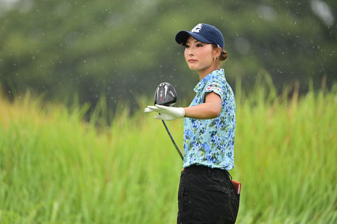 日本女子プロゴルフ選手権大会コニカミノルタ杯 第3日 鶴岡果恋 <Photo:Atsushi Tomura/Getty Images>