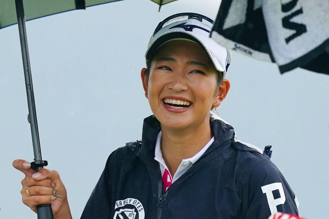 日本女子プロゴルフ選手権大会コニカミノルタ杯 第3日 原英莉花 <Photo:Ken Ishii/Getty Images>