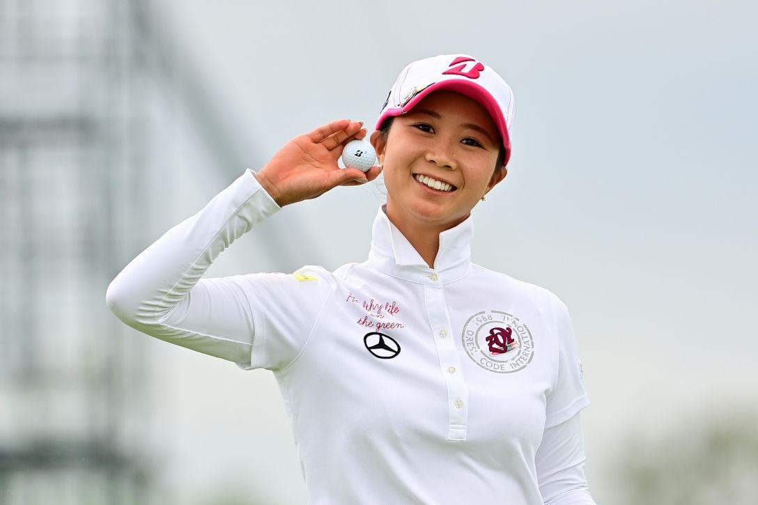 日本女子プロゴルフ選手権大会コニカミノルタ杯 第3日 金澤志奈 <Photo:Atsushi Tomura/Getty Images>