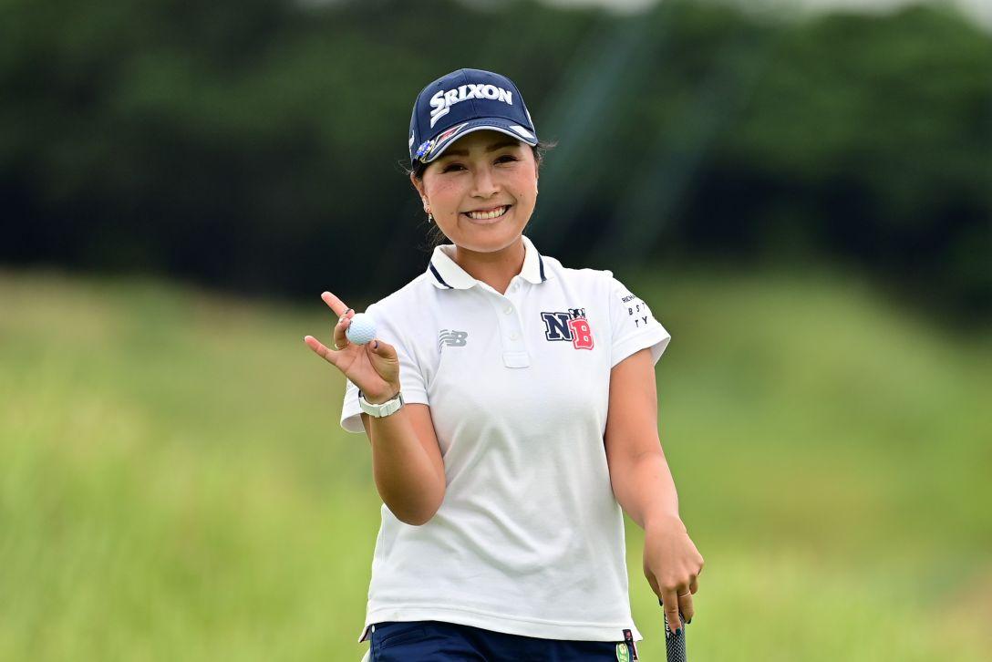 日本女子プロゴルフ選手権大会コニカミノルタ杯 第3日 青木瀬令奈 <Photo:Atsushi Tomura/Getty Images>