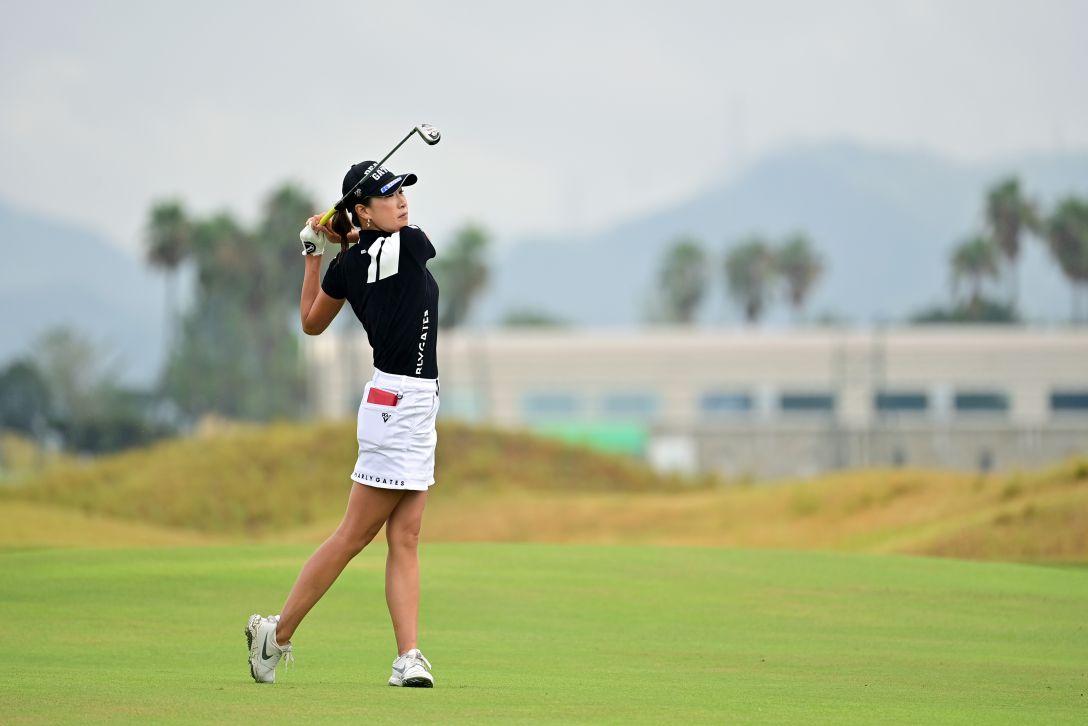 日本女子プロゴルフ選手権大会コニカミノルタ杯 第3日 木戸愛 <Photo:Atsushi Tomura/Getty Images>