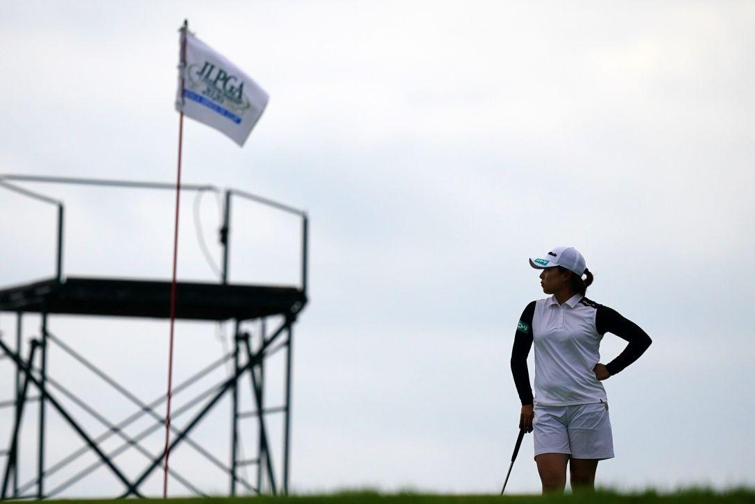 日本女子プロゴルフ選手権大会コニカミノルタ杯 第3日 永峰咲希 <Photo:Ken Ishii/Getty Images>