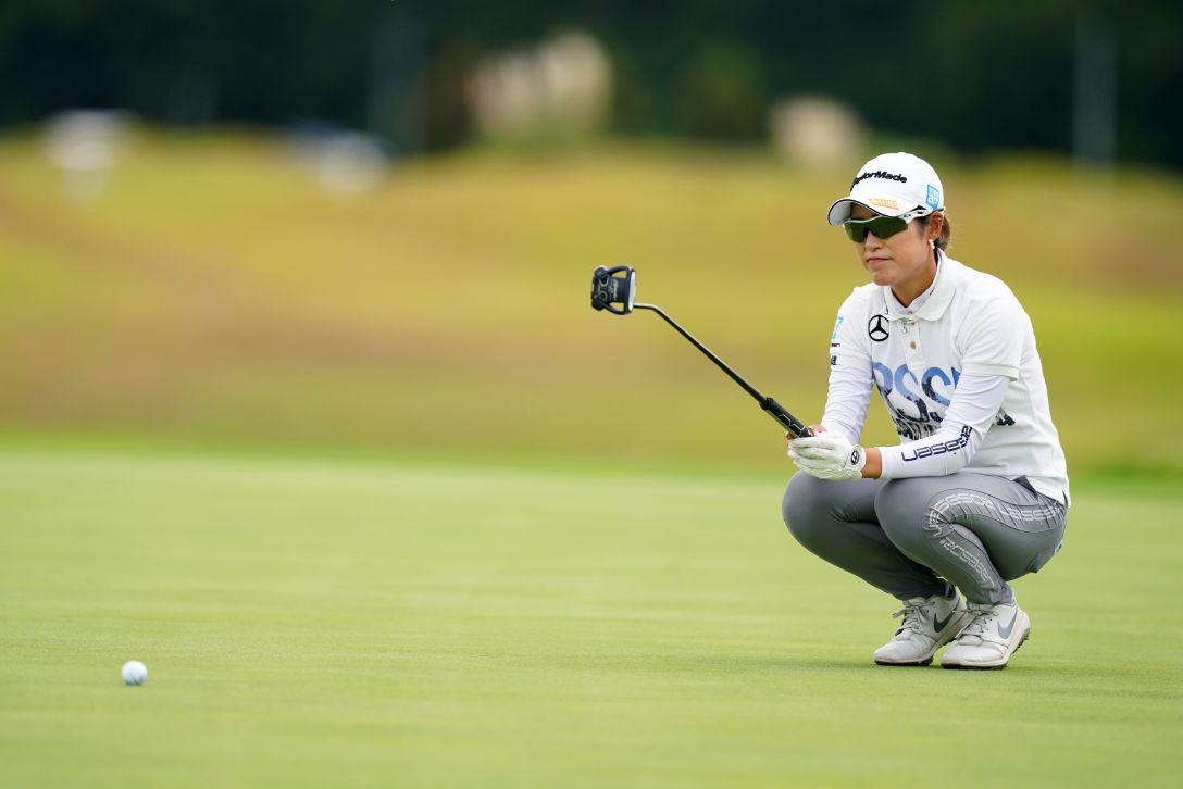 日本女子プロゴルフ選手権大会コニカミノルタ杯 最終日 大西葵 <Photo:Ken Ishii/Getty Images>