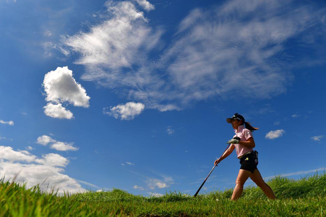 日本女子プロゴルフ選手権大会コニカミノルタ杯 最終日 西村優菜 <Photo:Atushi Tomura/Getty Images>