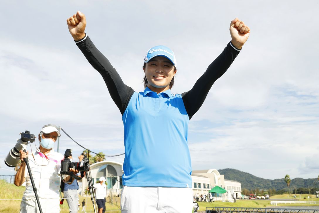 日本女子プロゴルフ選手権大会コニカミノルタ杯 最終日 永峰咲希 <Photo:Ishii/Getty Images>