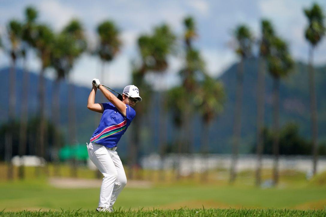 日本女子プロゴルフ選手権大会コニカミノルタ杯 最終日 ペヒギョン <Photo:Ishii/Getty Images>
