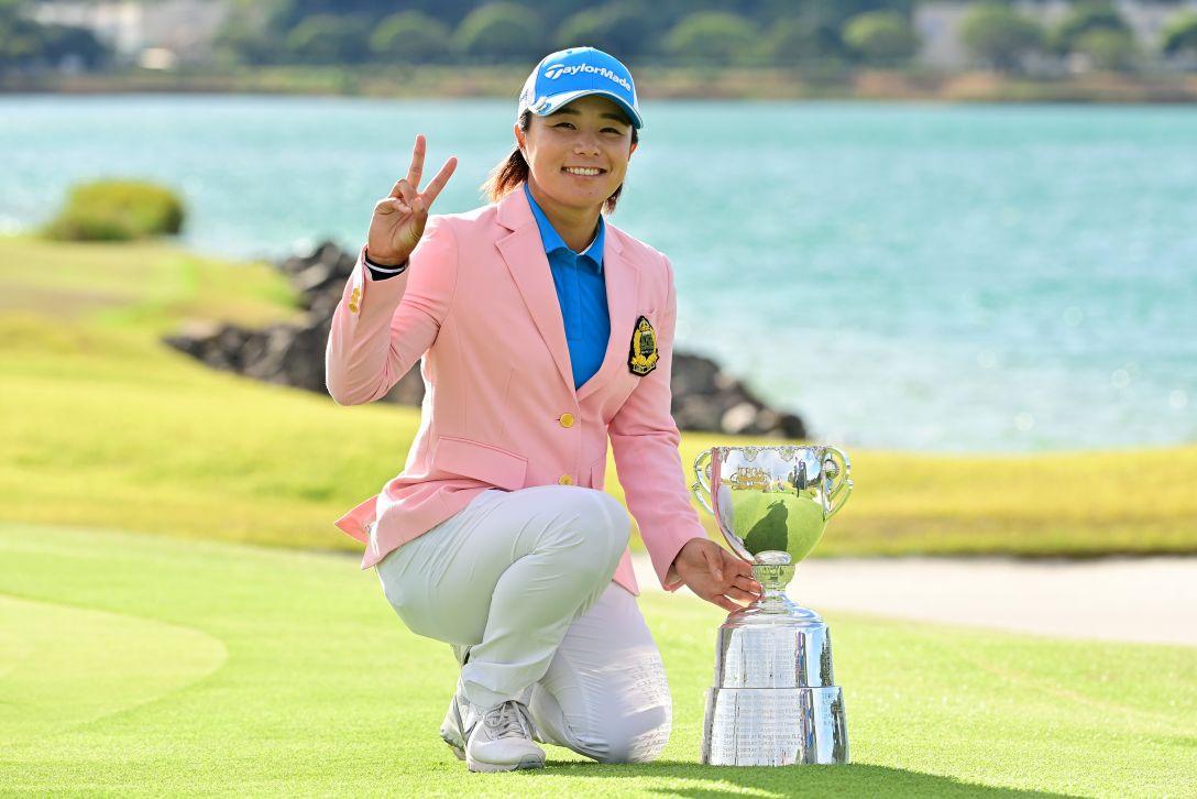 日本女子プロゴルフ選手権大会コニカミノルタ杯 最終日 永峰咲希 <Photo:Atushi Tomura/Getty Images>