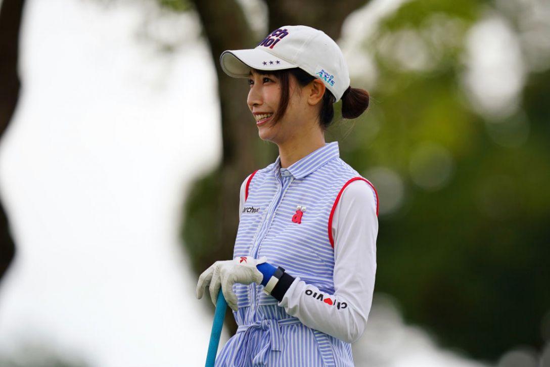 山陽新聞レディースカップ 第1日 米澤有 <Photo:Ken Ishii/Getty Images>