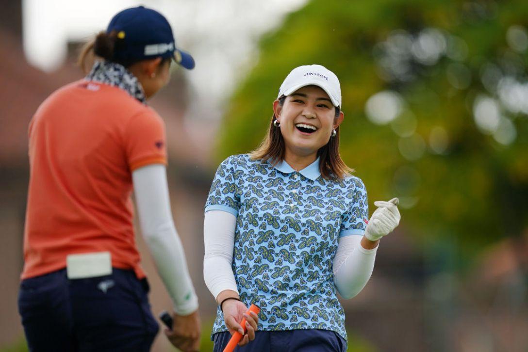 山陽新聞レディースカップ 第1日 倉田珠里亜 <Photo:Ken Ishii/Getty Images>