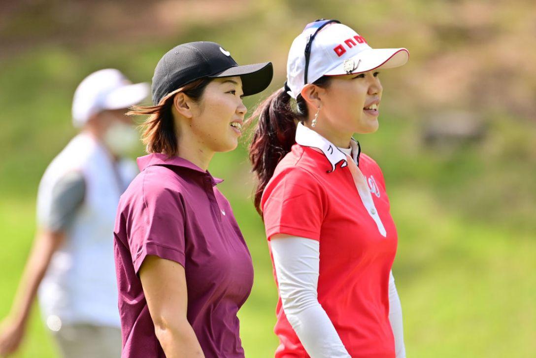 日本女子オープンゴルフ選手権 第1日 葭葉ルミ 黄アルム <Photo:Atsushi Tomura/Getty Images>