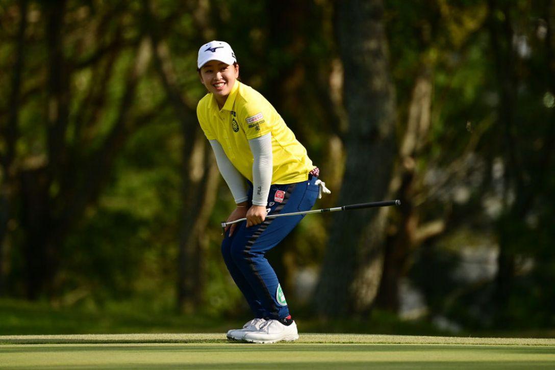 日本女子オープンゴルフ選手権 第2日 西郷真央 <Photo:Atsushi Tomura/Getty Images>