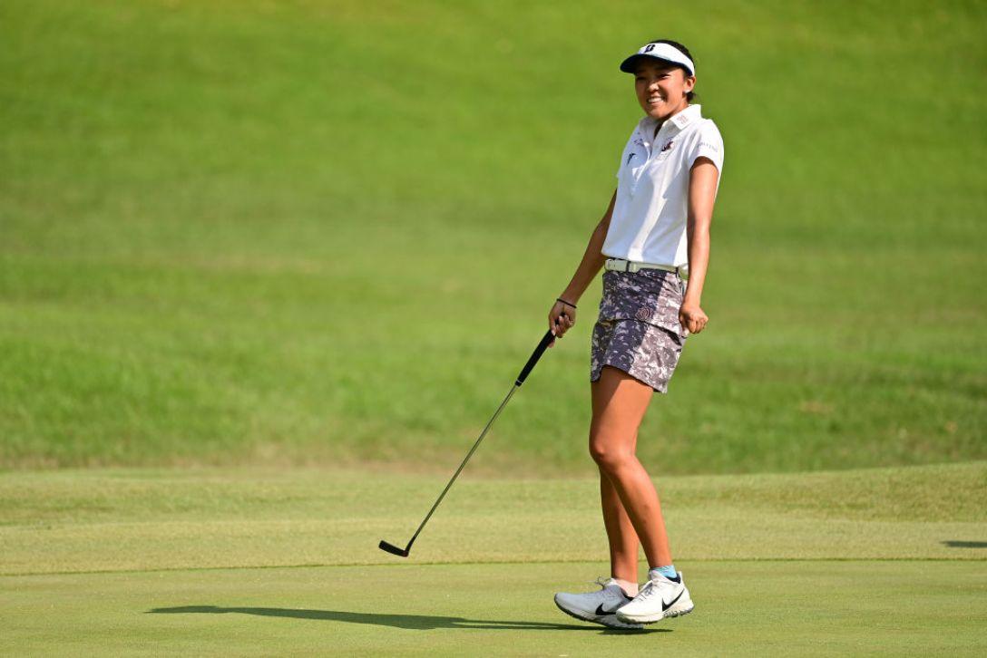 日本女子オープンゴルフ選手権 第2日 エイミー・コガ <Photo:Atsushi Tomura/Getty Images>