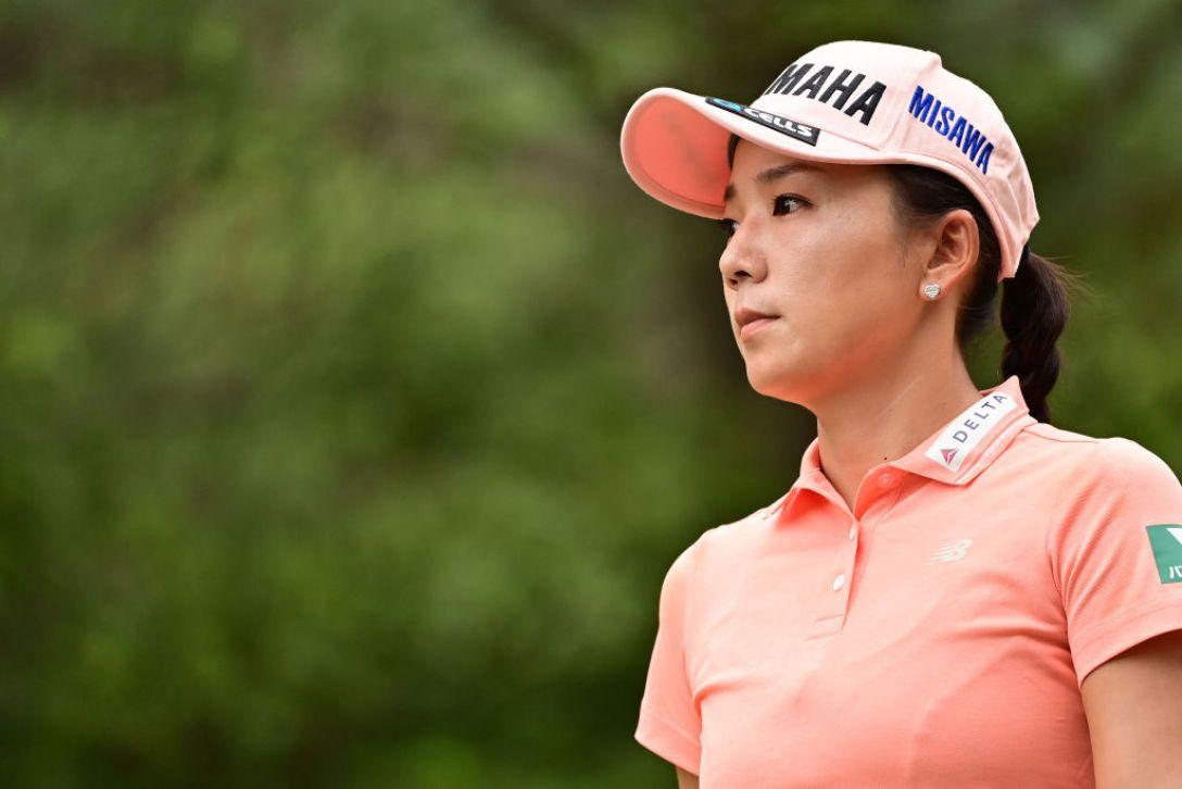 日本女子オープンゴルフ選手権 第3日 有村智恵 <Photo:Atsushi Tomura/Getty Images>